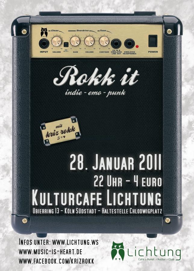 Rokk it - [ indie - emo - punk ]